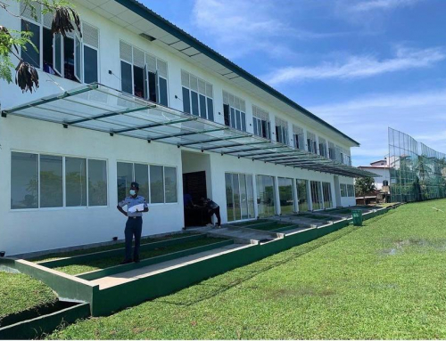 Completion & Handover of Tempered Glass Canopy Installation at Sir John Kotelawala Defence University